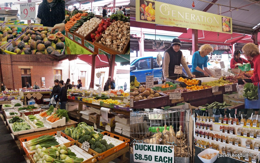Queen Victoria Market Melbourne Jackisnotdull